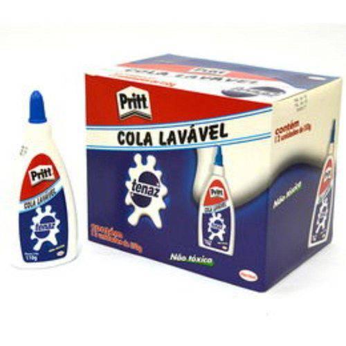 Cola Branca Lavável 35g Tenaz Cx 12 Unidades Pritt