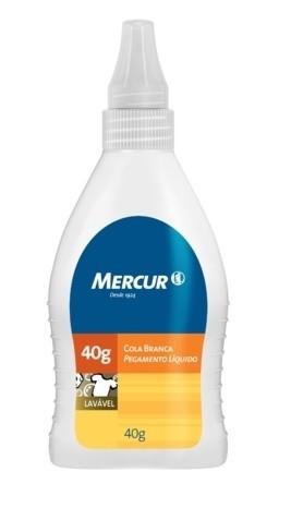 Cola Branca Mercur 40G (Cx-N) 120176