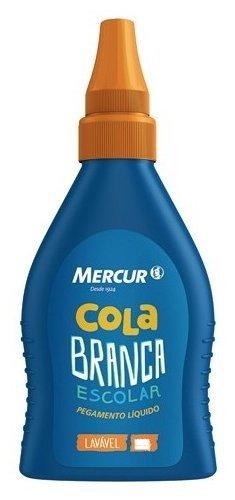 Cola Branca Mercur 90G (Cx-N) 120175