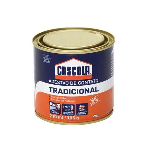 Cola Contato Tradicional Cascola Sem Toluol 195g