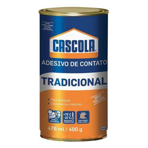 Cola Contato Tradicional Cascola Sem Toluol 400g