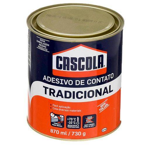 Cola Contato Tradicional Cascola Sem Toluol 730g