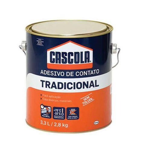 Cola Contato Tradicional Cascola Sem Toluol 2,8kg