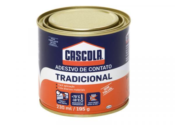 Cola de Contato 195 G Tradicional Sem Toluol Cascola com 24 - Henkel