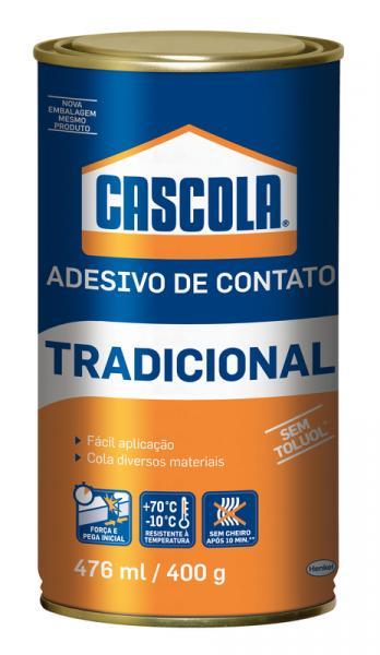 Cola de Contato 400 G Tradicional Sem Toluol Cascola com 12 - Henkel