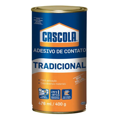 Cola de Contato 400 G Tradicional Sem Toluol Cascola com 12