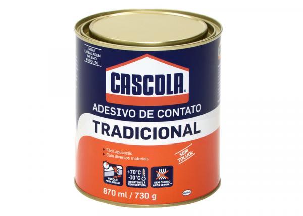 Cola de Contato 730 G Tradicional Sem Toluol Cascola com 12 - Henkel