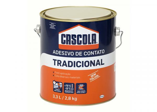 Cola de Contato 2,8 Kg Tradicional Sem Toluol Cascola com 4 - Henkel
