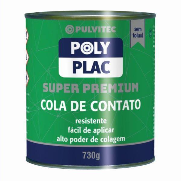 Cola de Contato Polyplac Pulvitec 730g Pulvitec