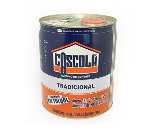 Cola de Contato Tradicional 14kg / 16,6L Cascola Sem Toluol