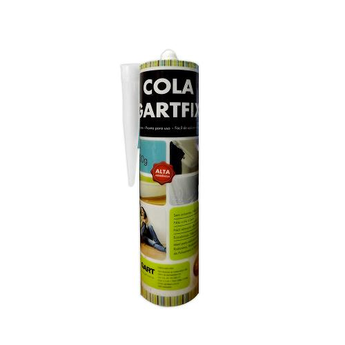 Cola Gart Fix Bisnaga de 500g para Rosetas e Molduras em Poliestireno e Eps