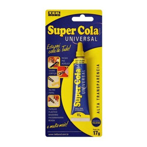 Cola Instantânea 17g Tekbond Super Cola