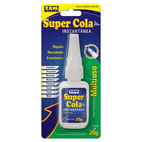 Cola Instantânea Super Cola Tekbond 20g