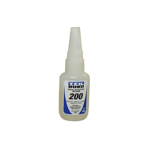 Cola Instantânea Tekbond 200 - 20Gr