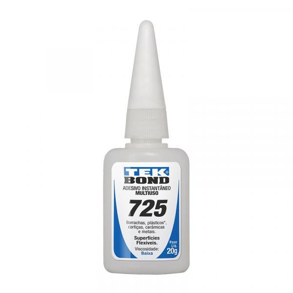 Cola Instantâneo 20G Tekbond 725-B