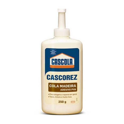 Cola Madeira Cascorez 250g Henkel