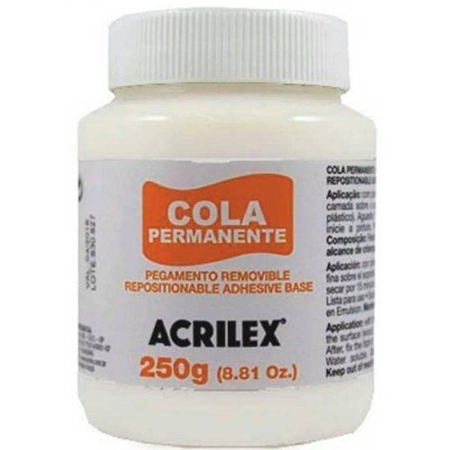Cola Permanente Acrilex 250g -16225