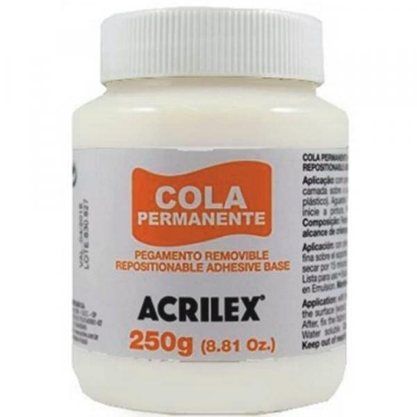 Cola Permanente Acrilex 250g - 16225