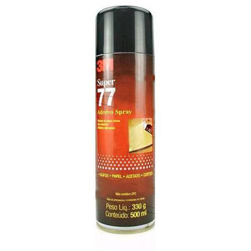 Cola Spray 77 330g Permanente 3m