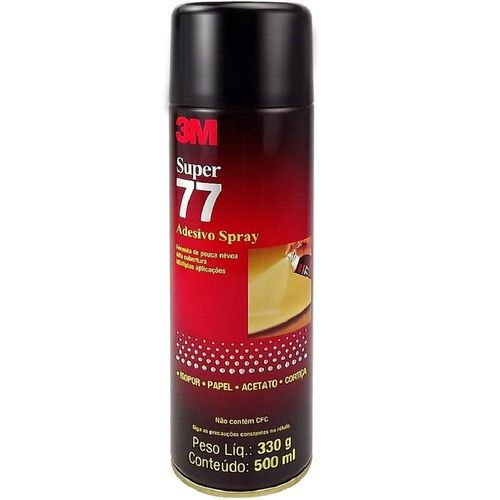 Cola Spray Super 77 Adesivo 3m