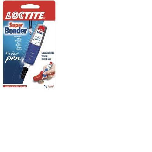 Cola Super Bonder Perfect Pen 3g com 1