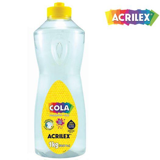 Cola Transparente 1kg 19901 Acrilex