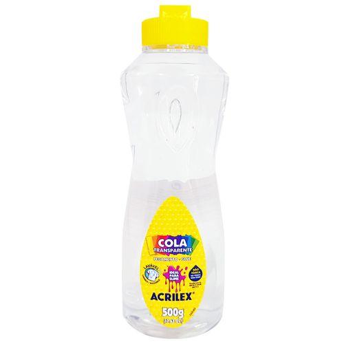 Cola Transparente 500g Acrilex 1028823