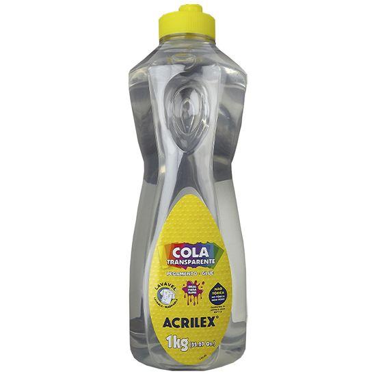 Cola Transparente para Slime Acrilex 1Kg