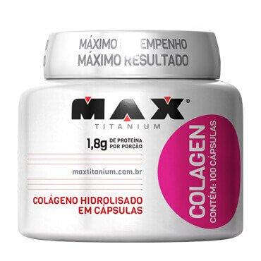 Tudo sobre 'Colagen Max Titanium 100Caps'