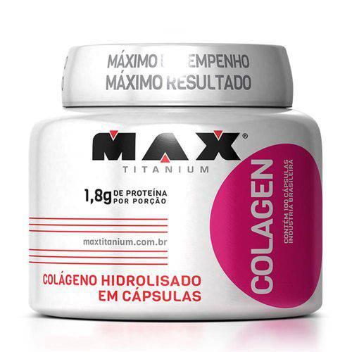 Tudo sobre 'Colagen 100 Cápsulas Max Titanium'