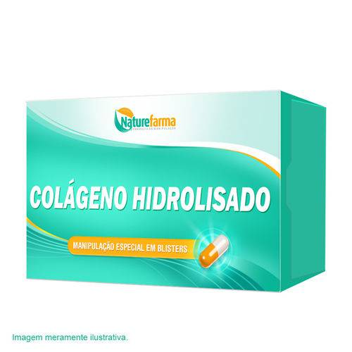 Colágeno Hidrolisado 400mg 90 Cápsulas