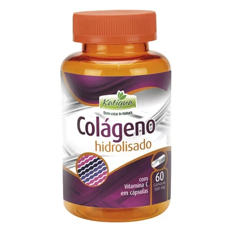 Colágeno Hidrolisado 60 Cápsulas 500mg Katigua