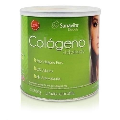 Tudo sobre 'Colageno Limao e Clorofila 300g Sanavita'