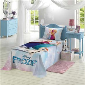 Colcha Infantil Lepper Simples Frozen - Estampada