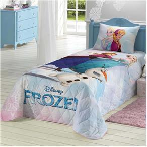 Colcha Infantil Matelassê Frozen - Lepper - Cor - Azul