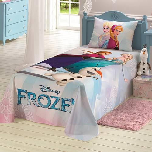 Colcha Infantil Simples 180 Fios Frozen - Lepper