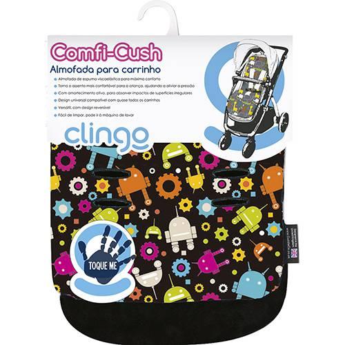 Tudo sobre 'Colchão para Carrinho Comfi-Cush-Robots Colorido Clingo'