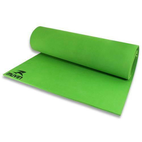 Colchonete Tapete Eva Yoga e Funcional Verde - Muvin