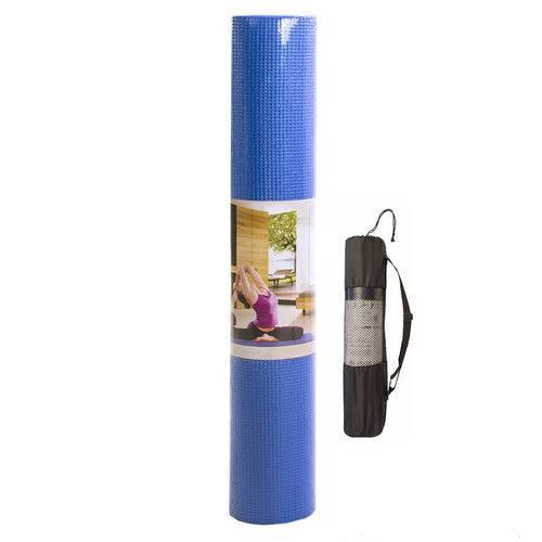 Tudo sobre 'Colchonete Tapete Yoga Mat P/ Pilates Ginástica 5mm C/ Bolsa'