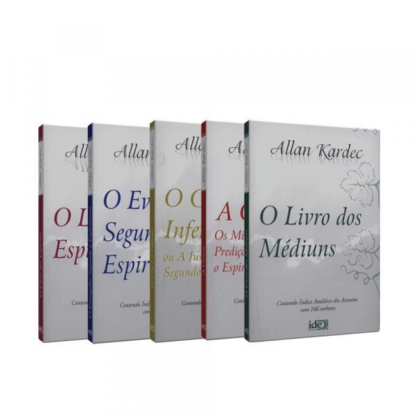 Coleção Allan Kardec (5 Volumes - Bolso) - Ide
