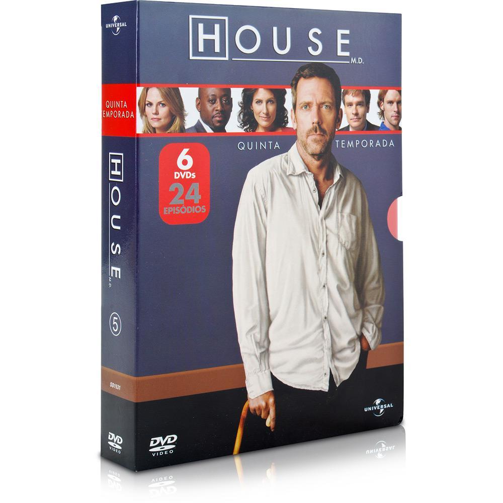 Tudo sobre 'Coleção DVD House: 5ª Temporada'