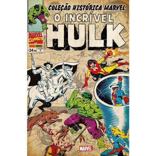 Tudo sobre 'Coleção Histórica Marvel - Incrível Hulk - Vol. 7'