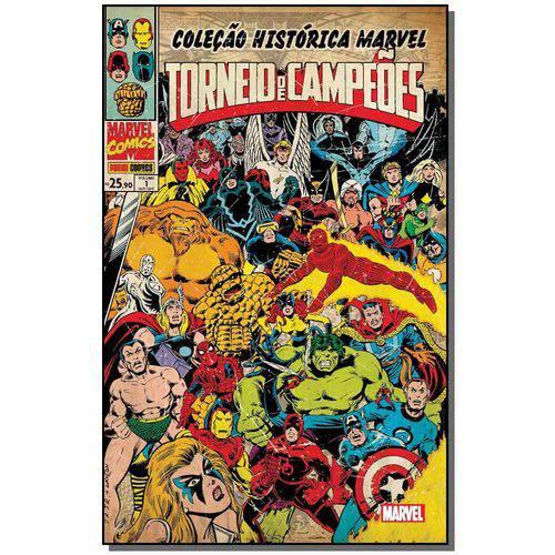 Tudo sobre 'Colecao Historica Marvel: Torneio de Campeoes 1'