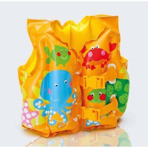 Colete Inflável Infantil Colorido Salva Vidas