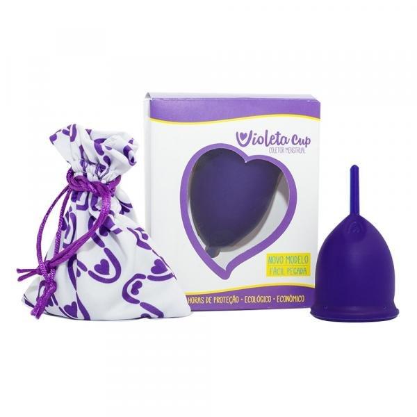 Coletor Menstrual Violeta Cup - Violeta Tipo a