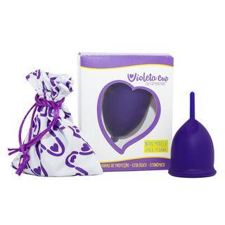 Coletor Menstrual Violeta Cup - Violeta Tipo B 1 Un