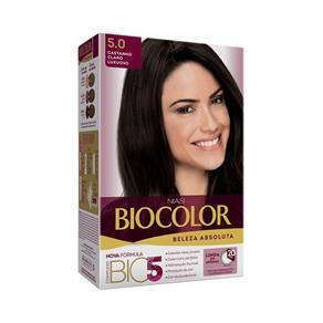 Coloração Biocolor - Castanho Claro Luxuoso 5.0