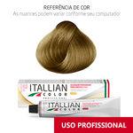 Coloração Itallian Color Professional 60g Louro 7