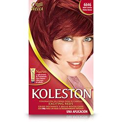 Coloração Koleston Kit 6646 Cereja - Wella