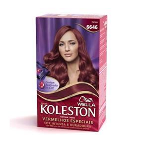 Coloração Koleston Kit 6646 Cereja